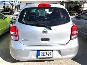 kibris-araba-com-kktc-araba-bayi-oto-galeri-satilik-arac-ilan-İkinci El 2012 Nissan  March  1.2