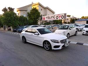kibris-araba-com-kktc-araba-bayi-oto-galeri-satilik-arac-ilan-Plakasız 2 El 2017 Mercedes-Benz  C-Class  C180 AMG Sport