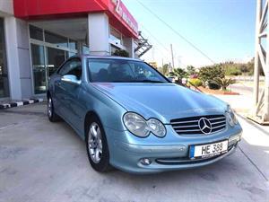kibris-araba-com-kktc-araba-bayi-oto-galeri-satilik-arac-ilan-İkinci El 2002 Mercedes-Benz  CLK  200 Komp. Avantgarde